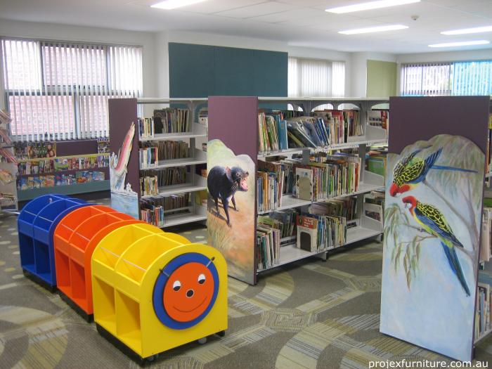 Deloraine Primary School School Library Furniture And Classroom Furniture For Students And Staff